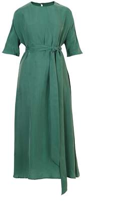 Flow Green Kimono Dress