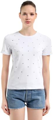 T.a.g.g. Slim Fit Embellished Jersey T-Shirt