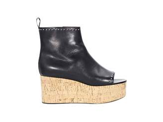 Givenchy Leather open toe boots