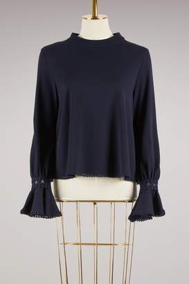 See by Chloe Musketeer Cuff Top