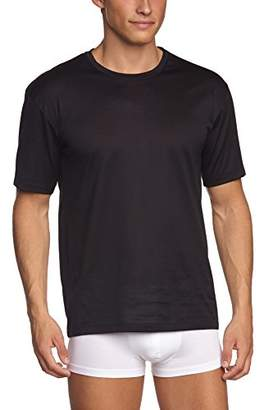 Hanro men's short sleeve shirt - cotton sporty