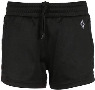 Marcelo Burlon County of Milan Cross Tape Shorts