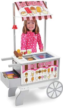 Melissa & Doug Wooden Snacks & Sweets Food Cart.
