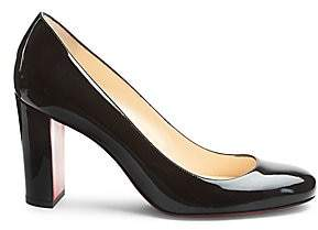 Christian Louboutin Women's Lady Gena 85 Patent Leather Pumps