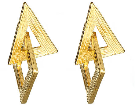 Yochi Geometric Earrings