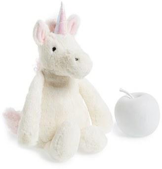 Infant Jellycat 'Bashful Unicorn' Stuffed Animal $22.50 thestylecure.com