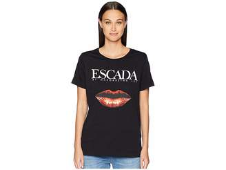Escada Sport Elabio Short Sleeve Logo Lips Tee