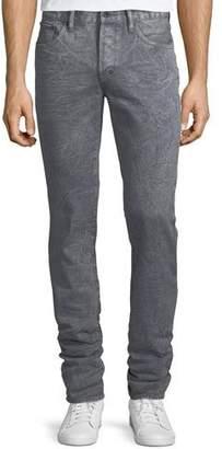 PRPS Distressed Slim-Straight Jeans