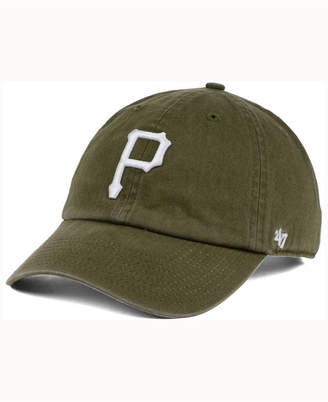 '47 Pittsburgh Pirates Olive White Clean Up Cap