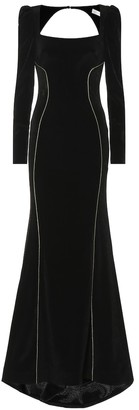 Rebecca Vallance Ivy long-sleeved gown