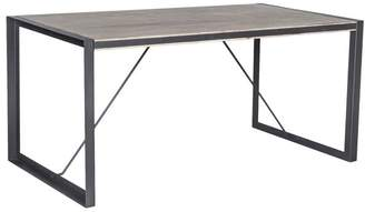 Bronx Moes Home Collection VX-1000 84 Acacia Wood Dining Table