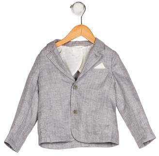 Armani Junior Boys' Lightweight Notch-Lapel Blazer w/ Tags