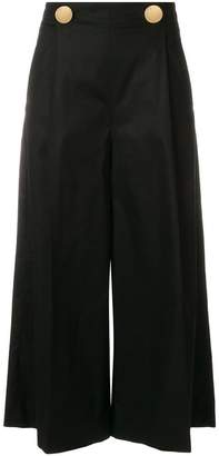 L'Autre Chose cropped flared trousers