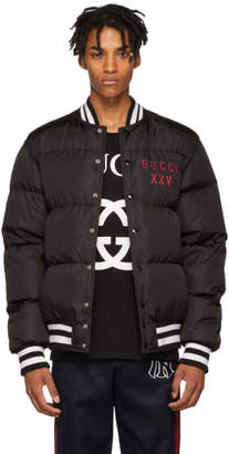 Gucci Black Pittsburgh Pirates Edition Down Jacket