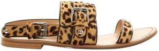Gianvito Rossi Pony-style calfskin sandals