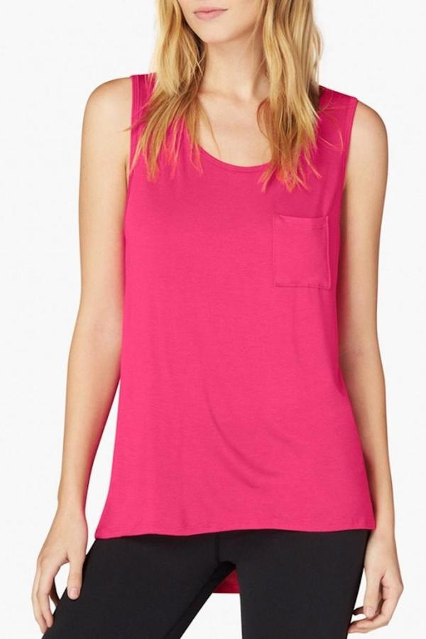 Beyond Yoga Pocket Muscle Tee