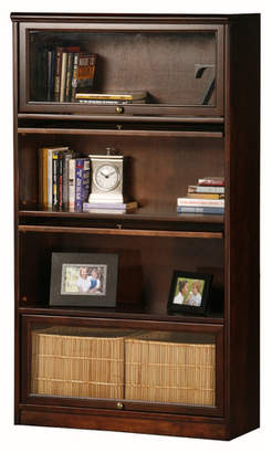 World Menagerie Didier Lawyer Barrister Bookcase Door Type: Glass,
