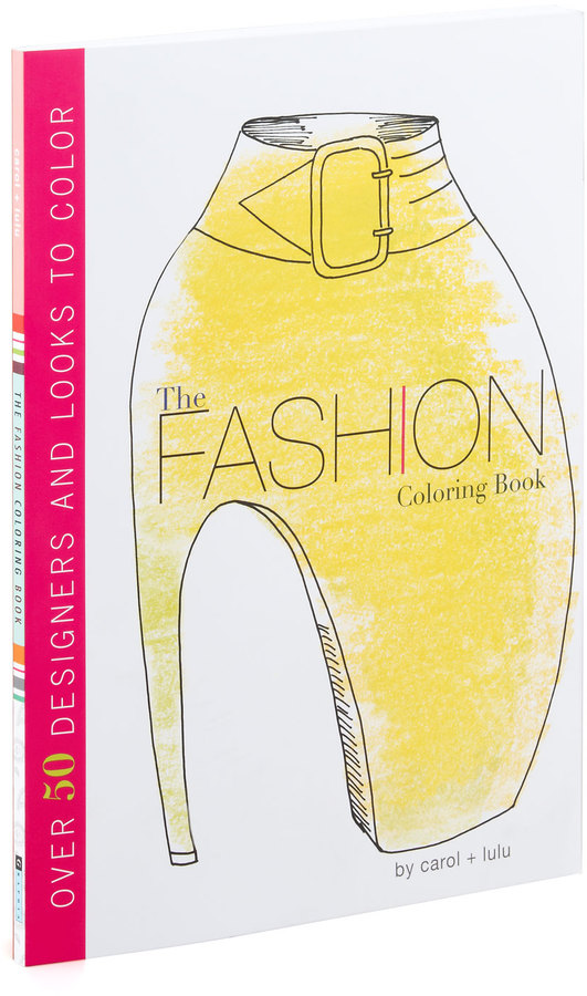 Southwest Books Fashion Coloring Book