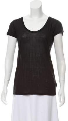 L'Agence Short Sleeve Top