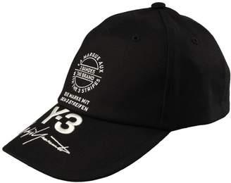 Y3 Street Cap - Black