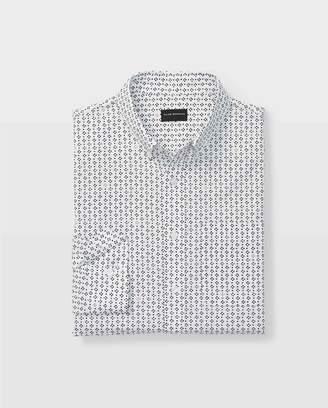 Club Monaco Slim Scattered Foulard Shirt