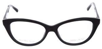 Jimmy Choo Round Acetate Eyeglasses