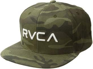 RVCA Men's Twill Snapback Hat