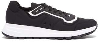 Neoprene Low Top Trainers - Mens - Black White