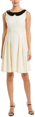 Eva Franco Wool A-Line Dress