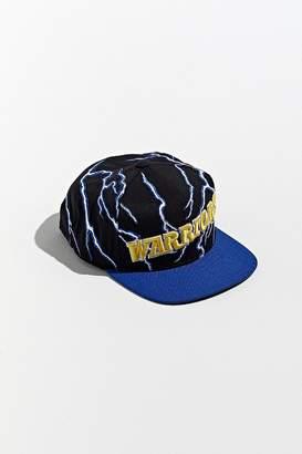 Mitchell & Ness Golden State Warriors Lightning Snapback Hat