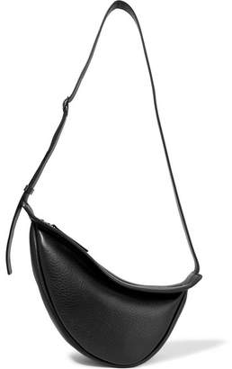 The Row Slouchy Banana Textured-leather Shoulder Bag