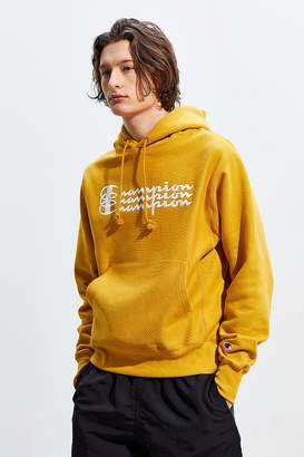 Champion UO Exclusive Triple Script Reverse Weave Hoodie Sweatshirt