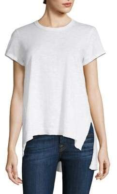 Wilt Asymmetrical Short Sleeve Tunic