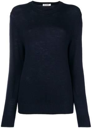 Jil Sander classic round neck sweater