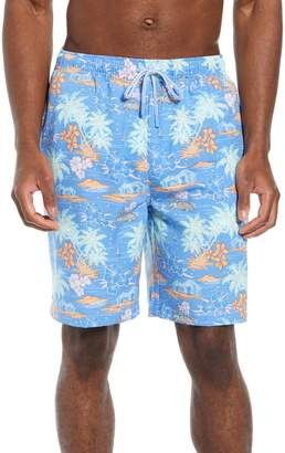 Peter Millar Hawaiian Sunset Swim Trunks