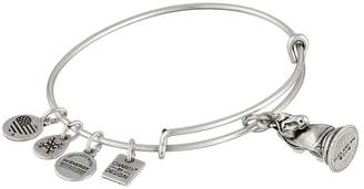 Alex and Ani Charity By Design - The Knight Charm Bangle Bracelet
