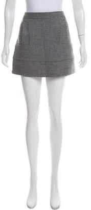 See by Chloe Tweed Mini Skirt