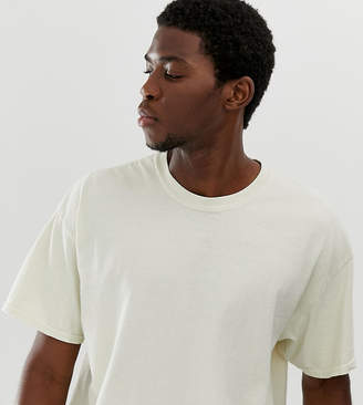 Reclaimed Vintage inspired oversized t-shirt in white