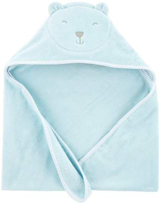 Carter's Baby Boy Embroidered Bear Hooded Towel