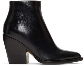 Chloé Black Rylee Ankle Boots