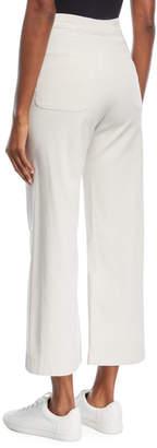 A.L.C. Pierce High-Waist Wide Leg Cropped Sailor Pants