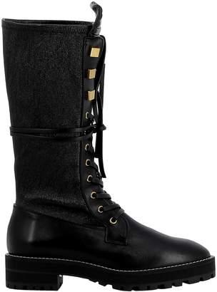 Stuart Weitzman Black Leather Boots