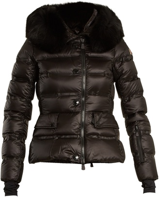 Armonique fur-trimmed quilted-down ski jacket