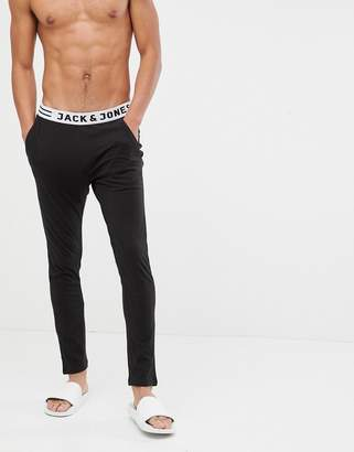 Jack and Jones jersey lounge pant with trunk waistband