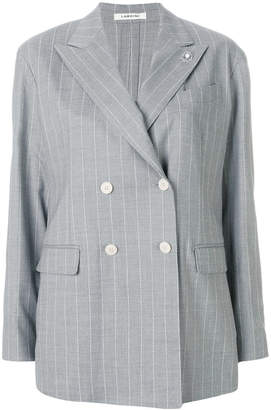 Lardini casual pinstriped blazer