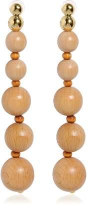 Cult Gaia Bamboo Drop Earrings