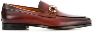 Santoni clasp detail loafers