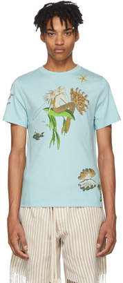 Loewe Blue Paulas Ibiza Edition Mermaid T-Shirt