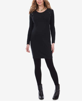Seraphine Maternity Nursing Sweater Dress