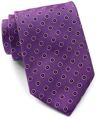 HUGO BOSS Patterned Silk Tie $95 thestylecure.com